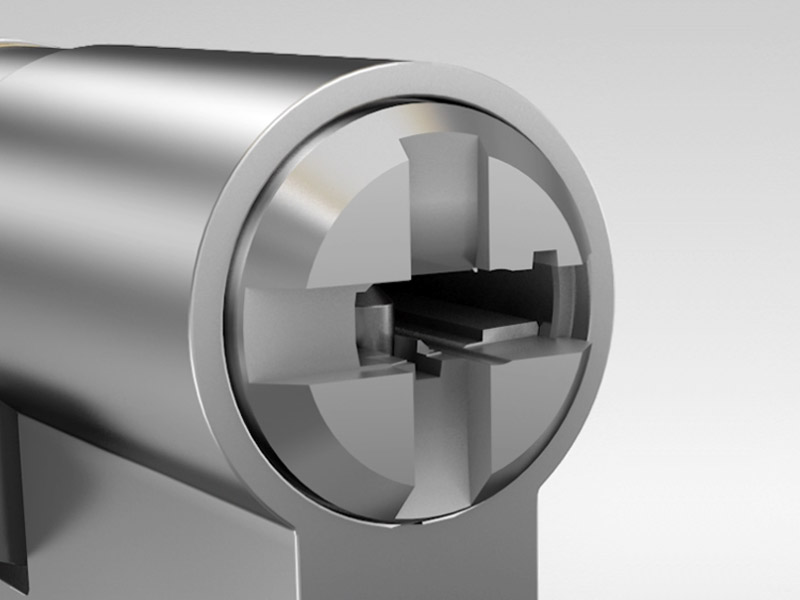 Fechaduras para portas PVC