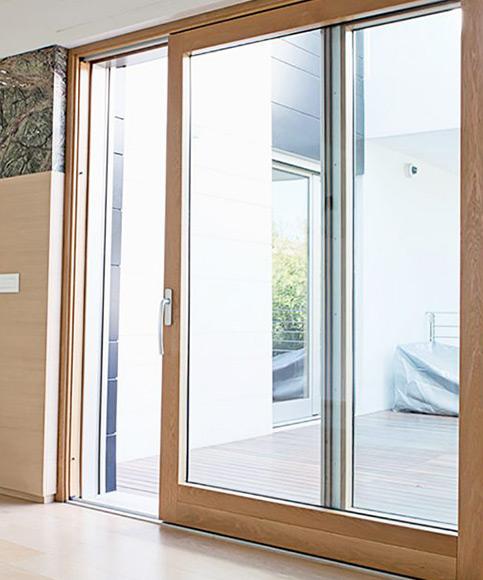 Portas PVC interiores e exteriores