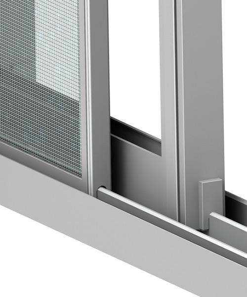 Redes mosquiteiras exteriores em PVC
