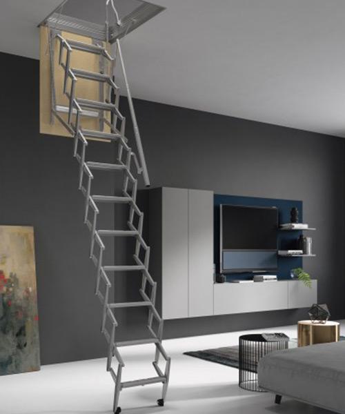 Saiba como escolher a sua escada para sótão em Lisboa